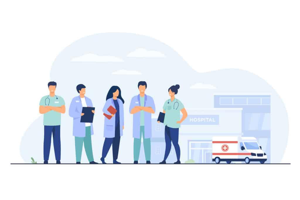 הסעת צוותים רפואיים - HLS